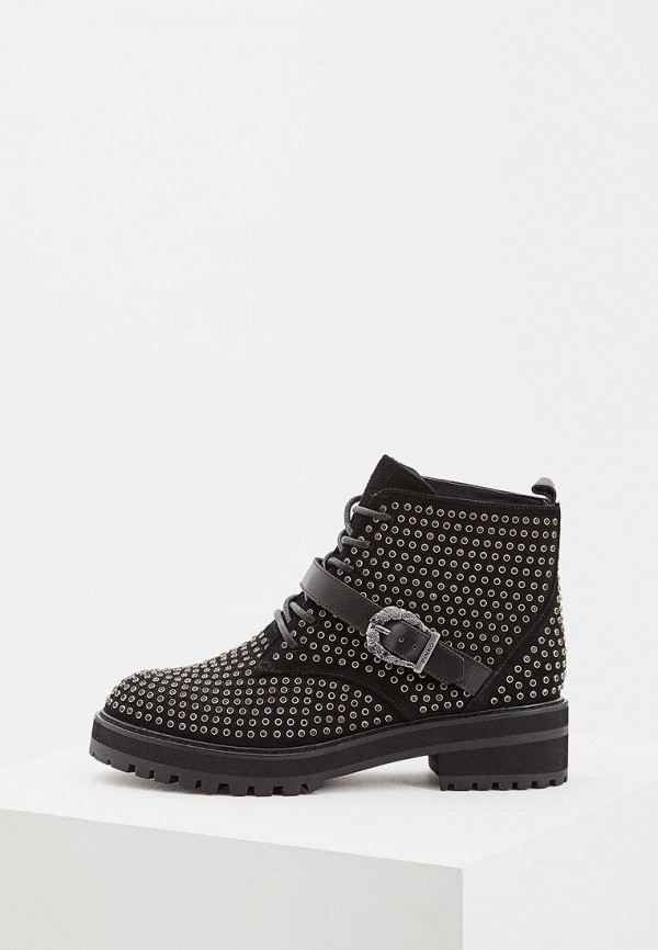 Купить Ботинки Pinko, PI754AWBWOG4, черный, Осень-зима 2018/2019
