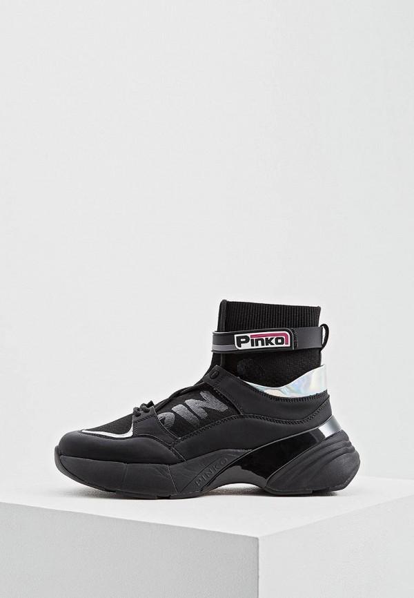 женские кроссовки pinko, черные