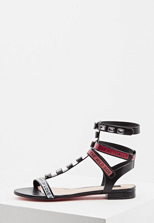 женские сандалии pinko, черные