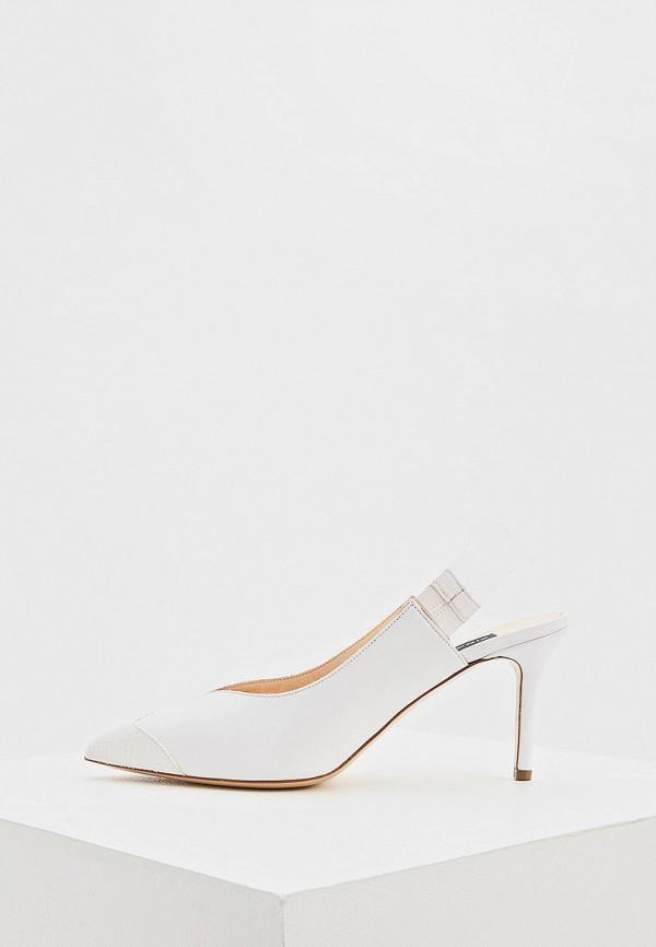 женские туфли pinko, белые