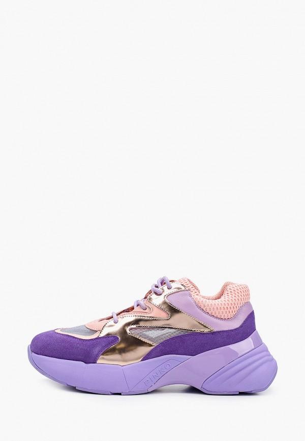 женские кроссовки pinko, фиолетовые
