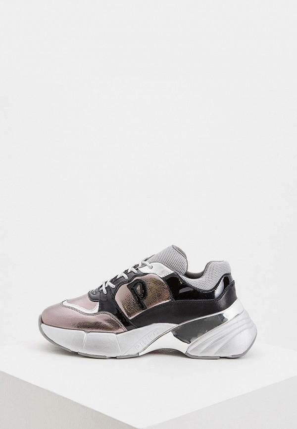 Фото - женские кроссовки Pinko серого цвета