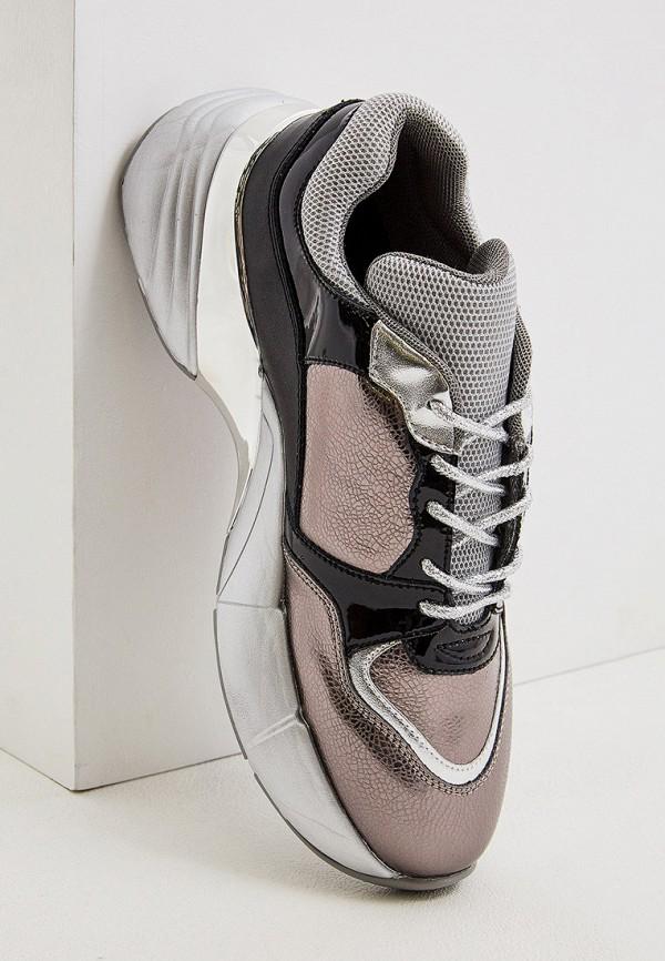 Фото 2 - женские кроссовки Pinko серого цвета