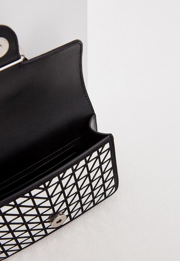 Фото 4 - женскую сумку Pinko серебрянного цвета