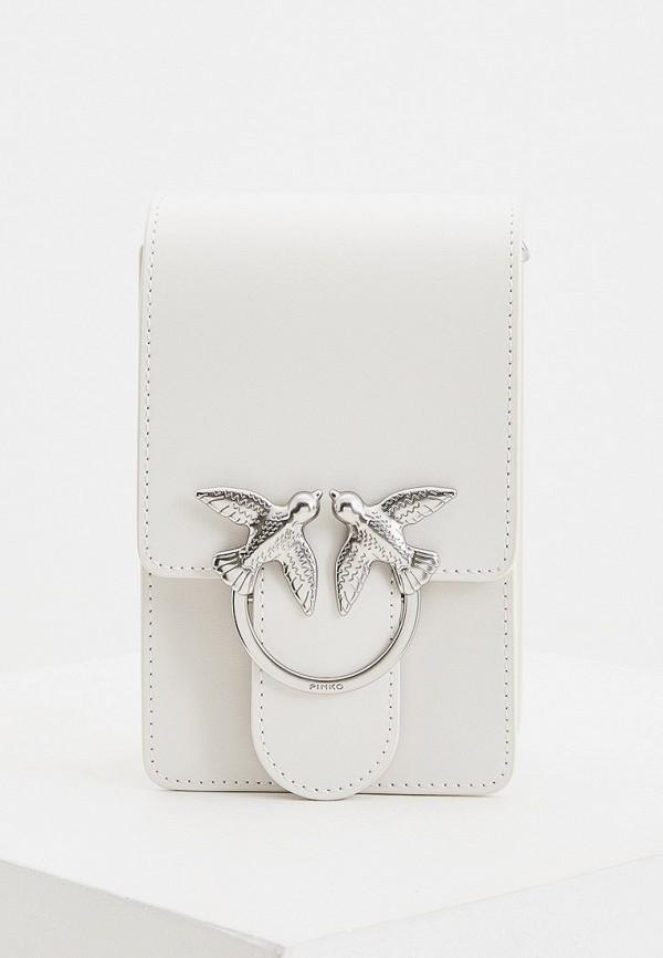 женская сумка pinko, белая