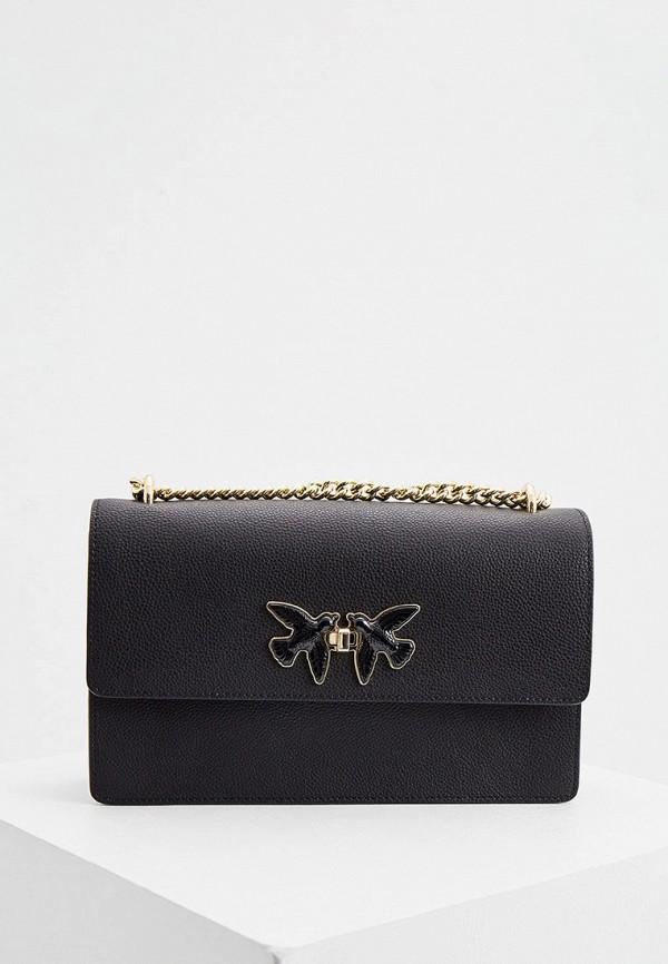 женская сумка pinko, черная