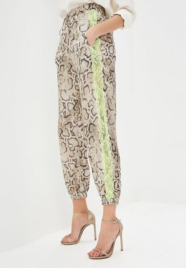 женские повседневные брюки pinko, серые
