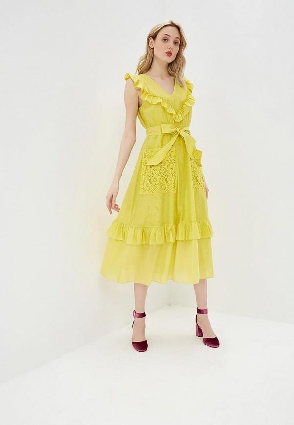 Платье Pinko Pinko PI754EWDMRU1 недорго, оригинальная цена