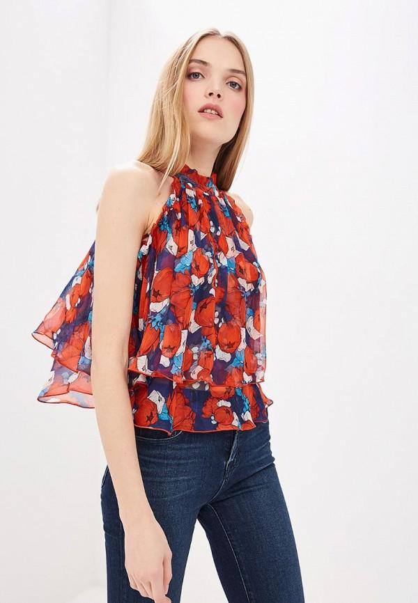 женская блузка pinko, красная