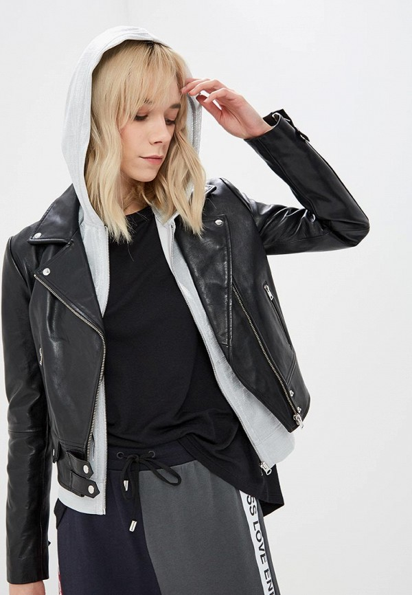 Куртка кожаная Pinko Pinko PI754EWDMSA9 куртка накидка pinko tag куртка накидка