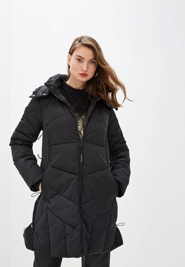 женская куртка pinko, черная