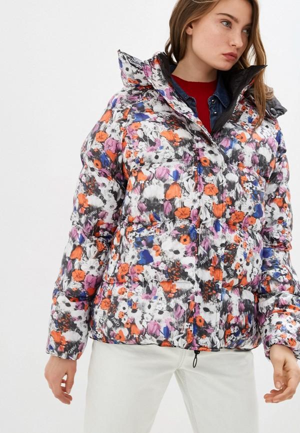 женская куртка pinko, разноцветная