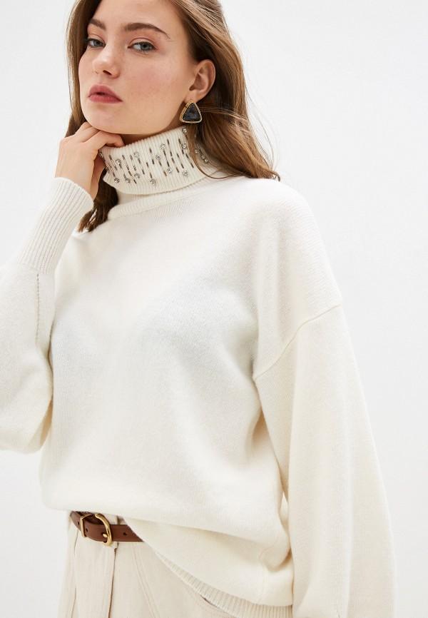 женский свитер pinko, белый