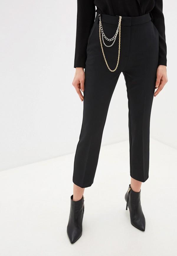 женские классические брюки pinko, черные