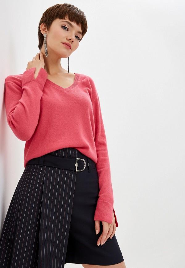 женский пуловер pinko, розовый