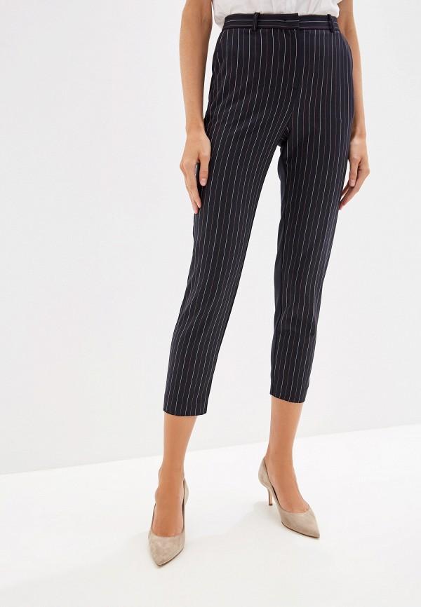 женские повседневные брюки pinko, синие