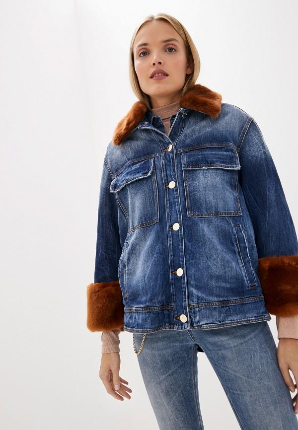 Куртка джинсовая Pinko Pinko PI754EWFTYV8 куртка pinko pinko pi754ewdmrs5