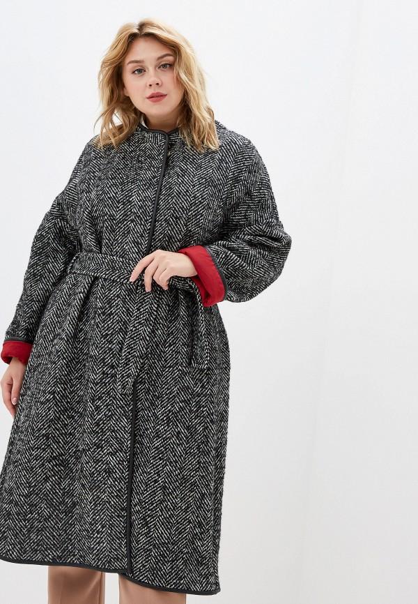 женское пальто pinko, серое