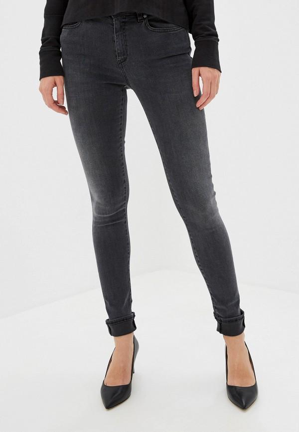 женские джинсы pinko, серые