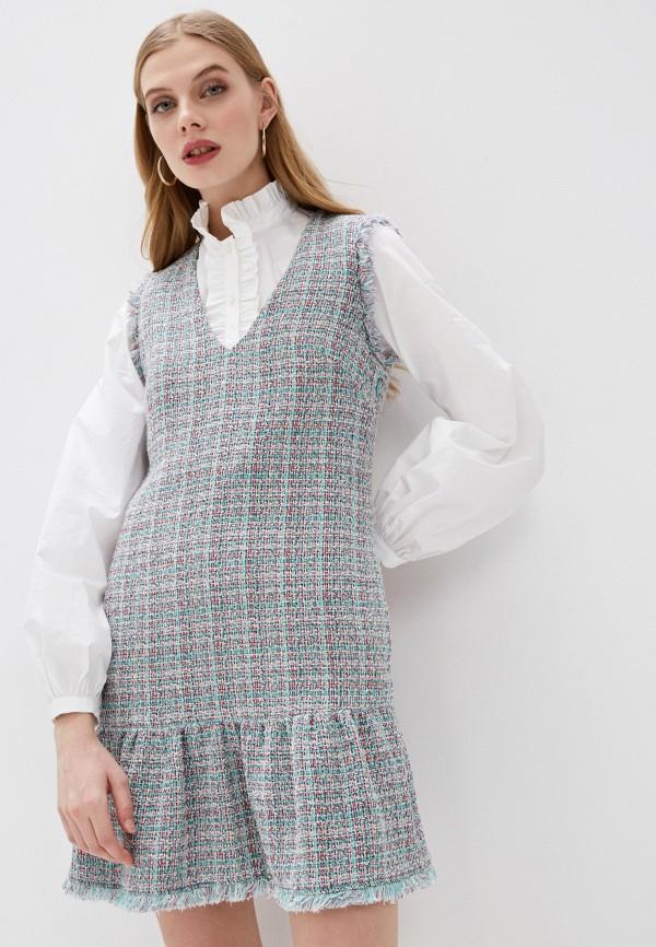 женское повседневные платье pinko, разноцветное