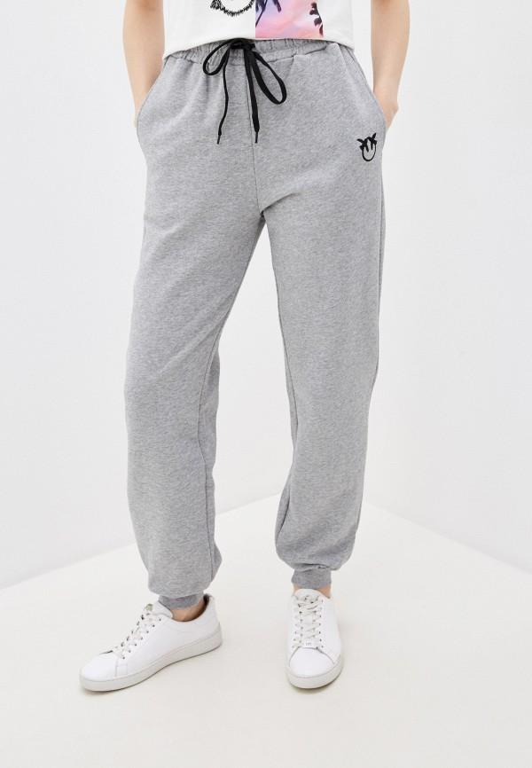 женские спортивные брюки pinko, серые