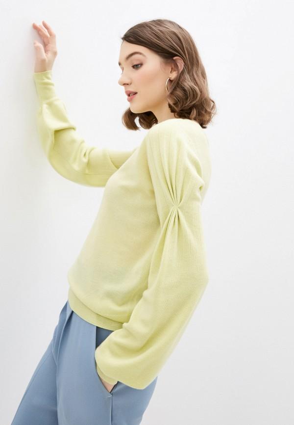 женский пуловер pinko, желтый