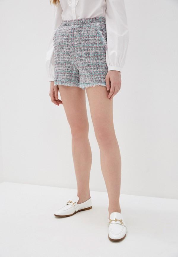 женские повседневные шорты pinko, разноцветные