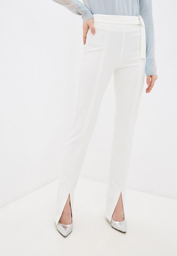 женские классические брюки pinko, белые