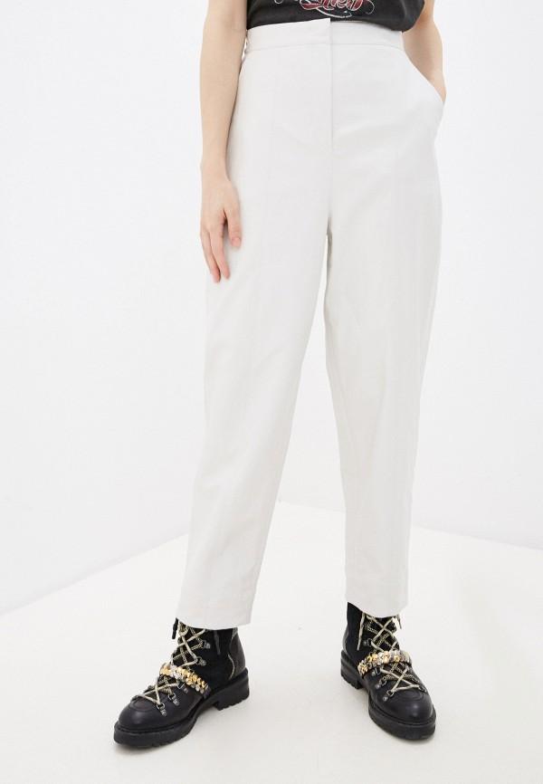 женские брюки pinko, белые