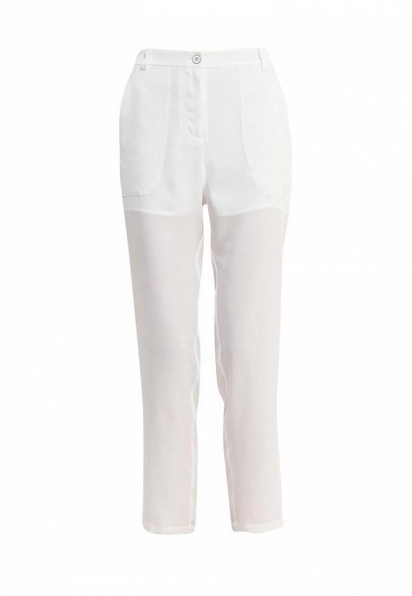 мужские зауженные брюки pinko, белые