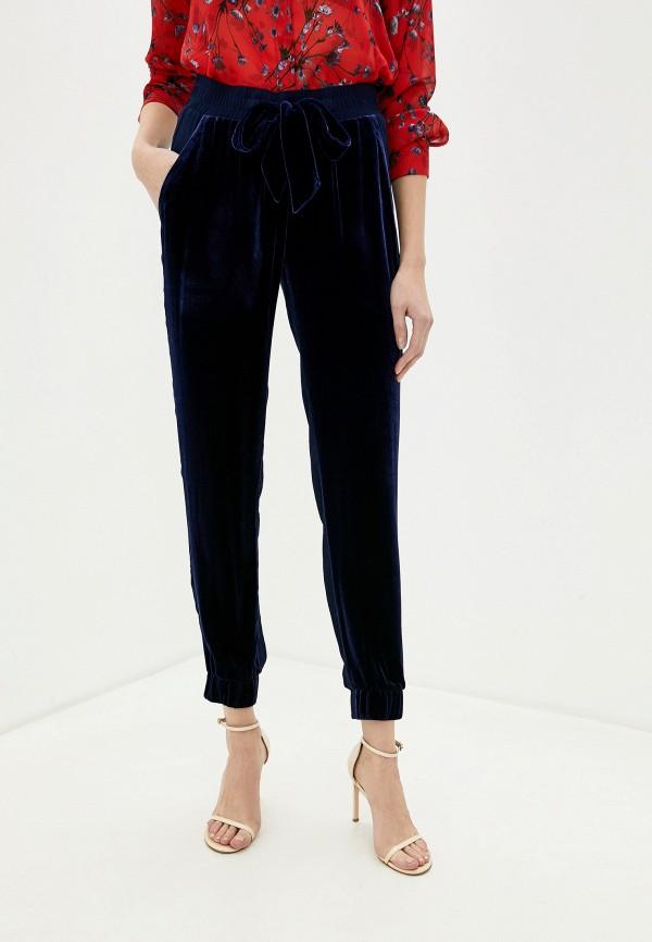 женские брюки pinko, синие