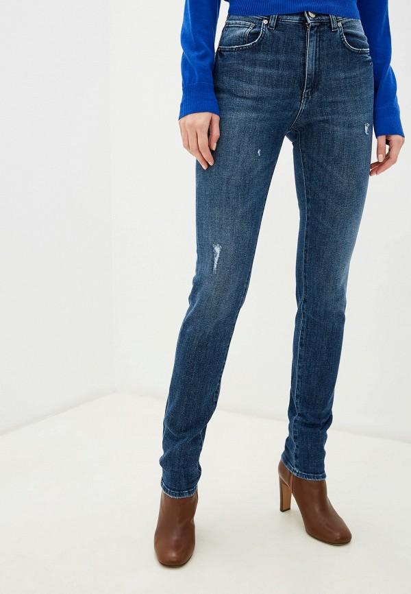 женские джинсы pinko, синие