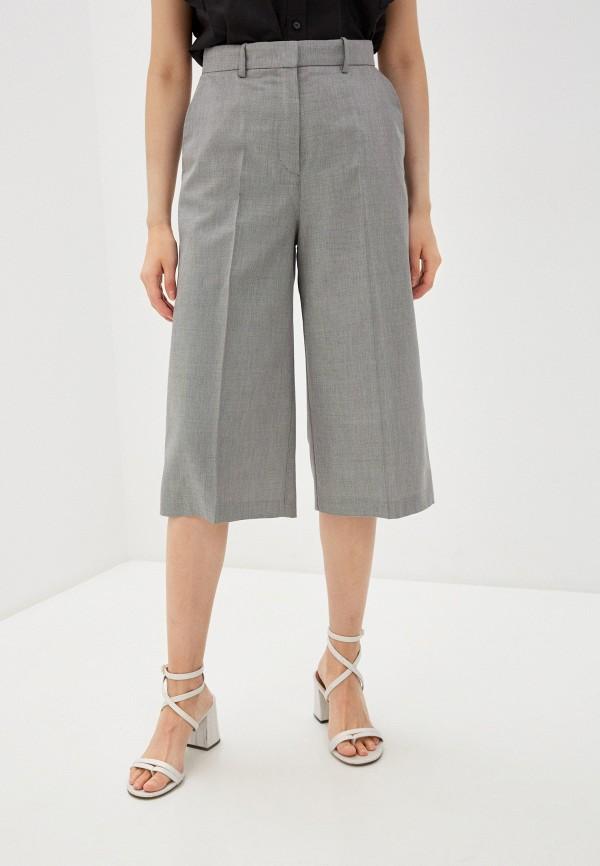 женские повседневные шорты pinko, серые