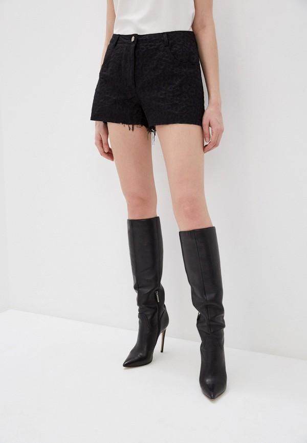 женские повседневные шорты pinko, черные