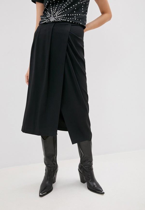 женская юбка pinko, черная