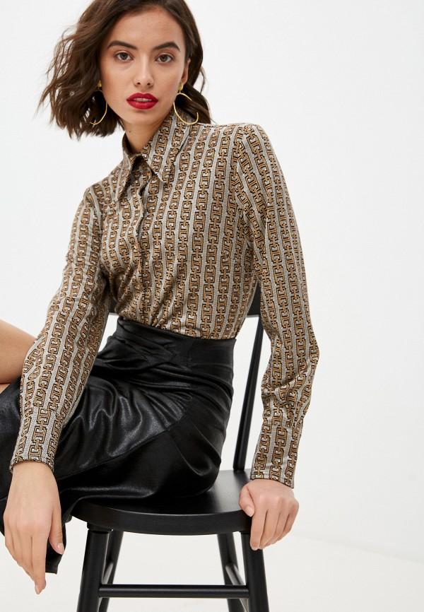 женская блузка pinko, серая