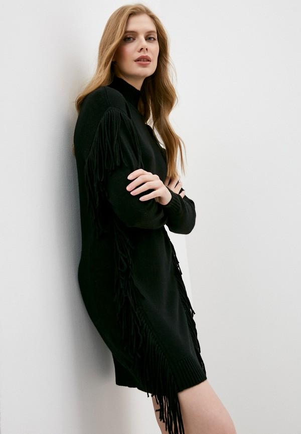 женское платье pinko, черное