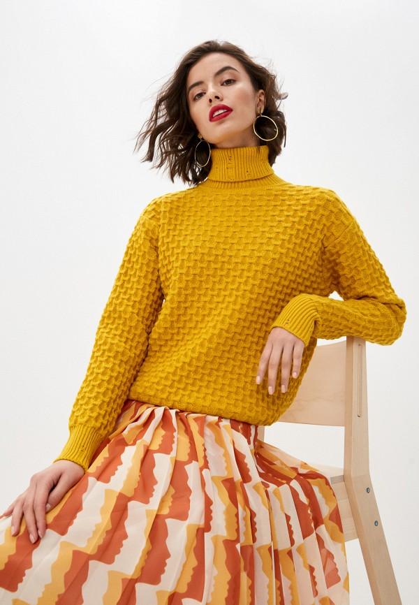женский свитер pinko, желтый