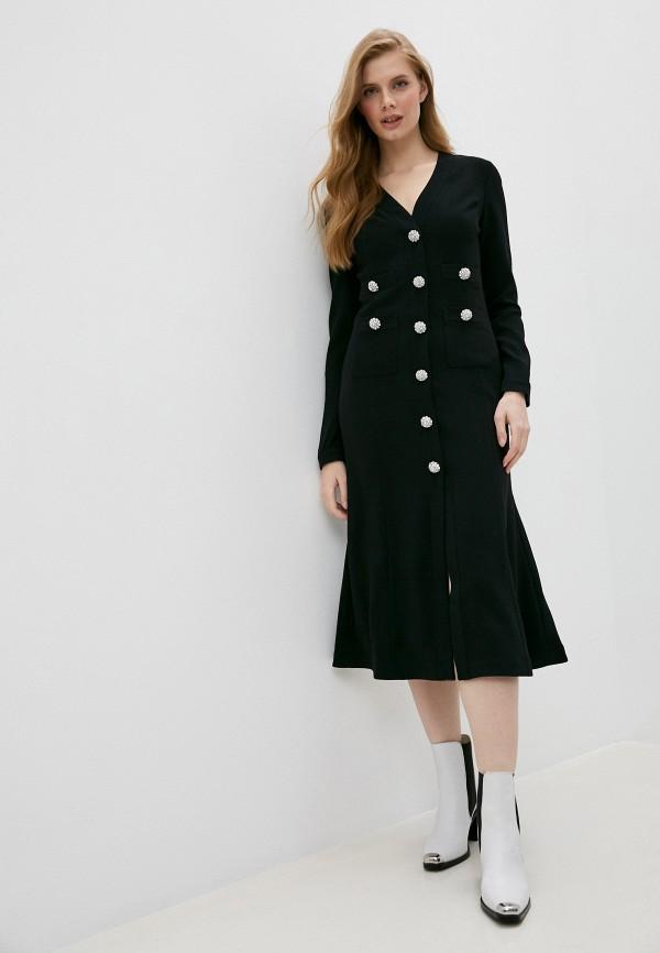 женское вечерние платье pinko, черное