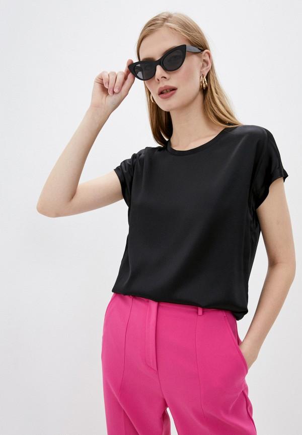 женская блузка pinko, черная