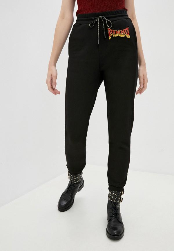 женские спортивные брюки pinko, черные