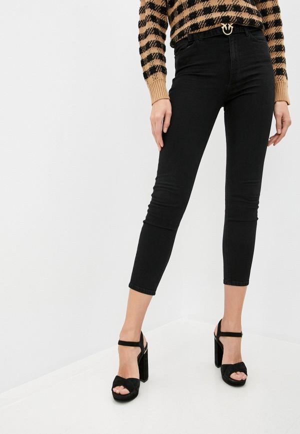 женские джинсы pinko, черные