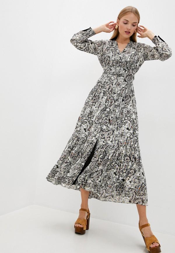 женское повседневные платье pinko, серое