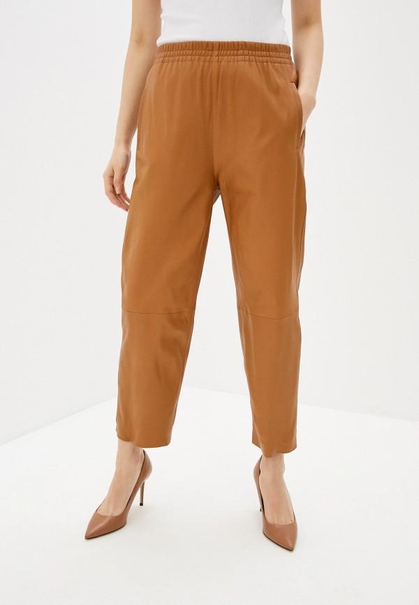 женские брюки pinko, бежевые