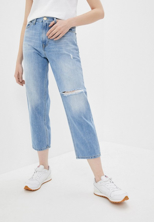 женские джинсы pinko, голубые