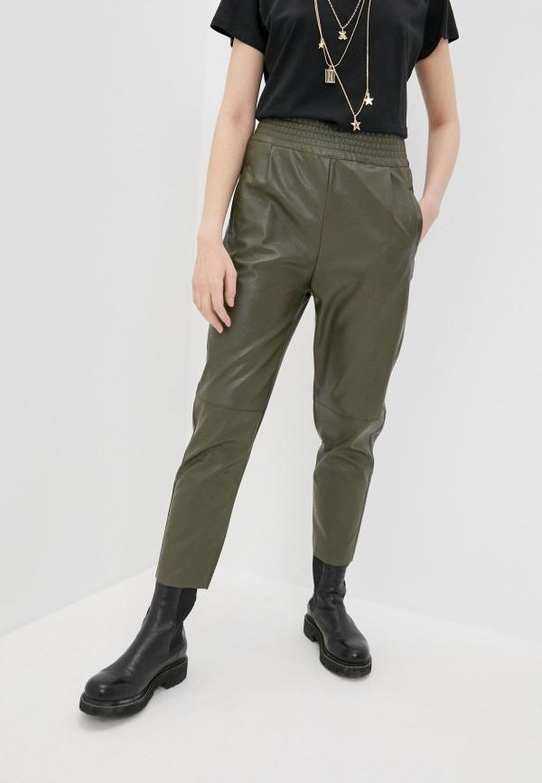 женские брюки pinko, хаки