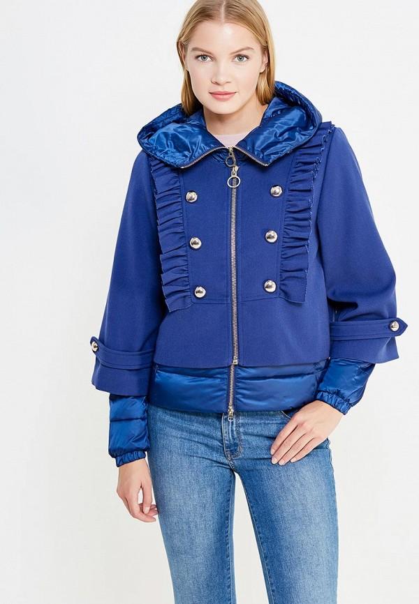 Куртка утепленная Pinko Pinko PI754EWUKK88 утепленная кожаная куртка жакет с вышивкой