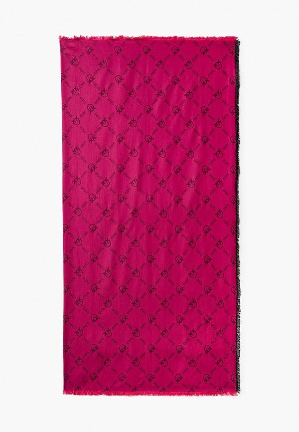 женский платок pinko, розовый