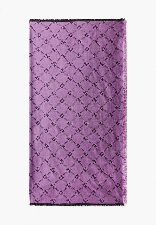 женский платок pinko, фиолетовый