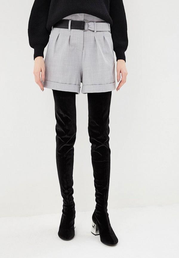 женские повседневные шорты p jean, серые